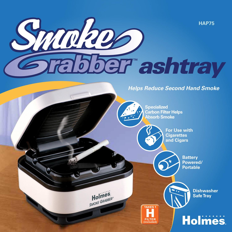 Holmes Smoke Grabber Ashtray (HAP75-UC2) - Walmart.com