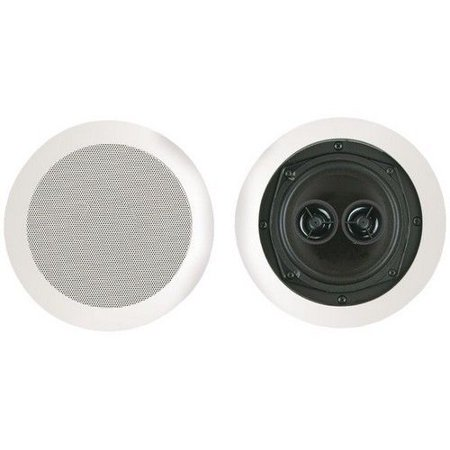 Bic America Msr5d 5 25  Dual Voice Coil Stereo Ceiling Speaker 10W 200W