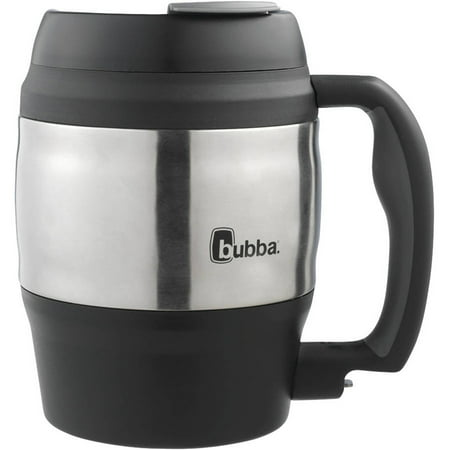 bubba Classic Foam-Insulated Desk Mug, 52 oz., Black