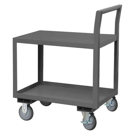 Utility Cart,Steel,36 Lx19 W,800 lb Cap LDO-183040-2-4PU-08T