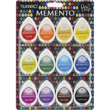 Memento Dew Drop Dye Ink Pads 12/Pkg-Gum Drops Adirondack Lights Dye Ink Pads