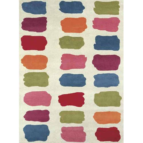 Crescent Drive Rug Company Fantasia Fan Girls Palate Area Rug