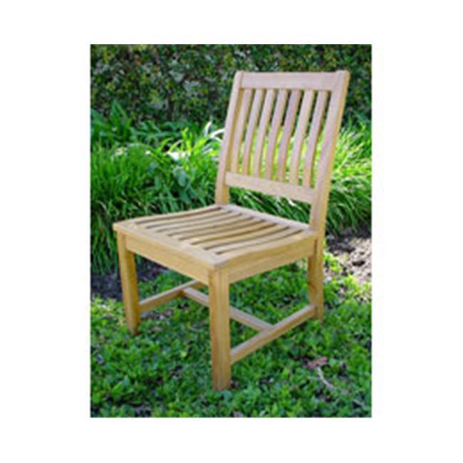 Anderson CHD-086 Teakwood Rialto Patio Dining Chair