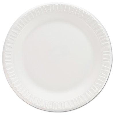 (Dcc 7PWCR Non-Laminated Foam Dinnerware Plates44; 7 in. - White)