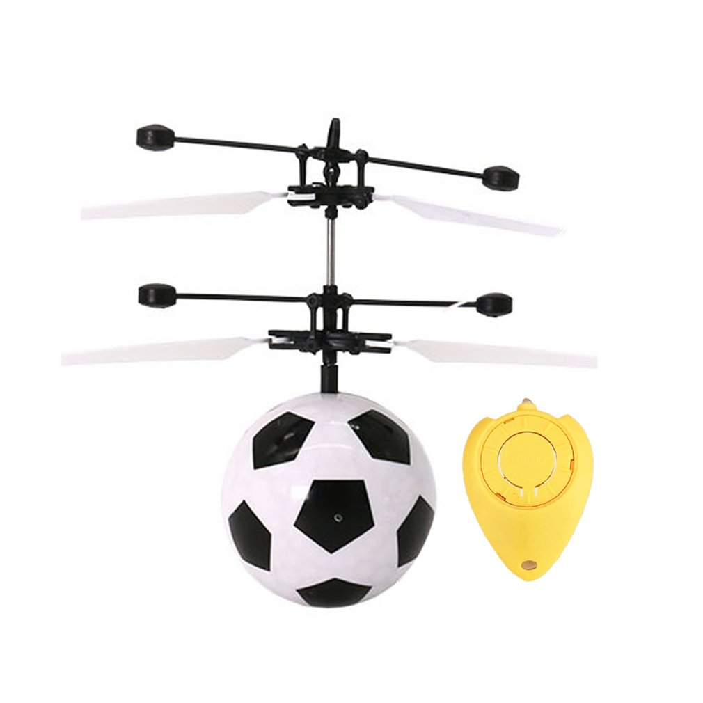 Kids Toys RC Flying Ball, Infrared Induction Helicopter Ball with Shinning LED Lights and... by