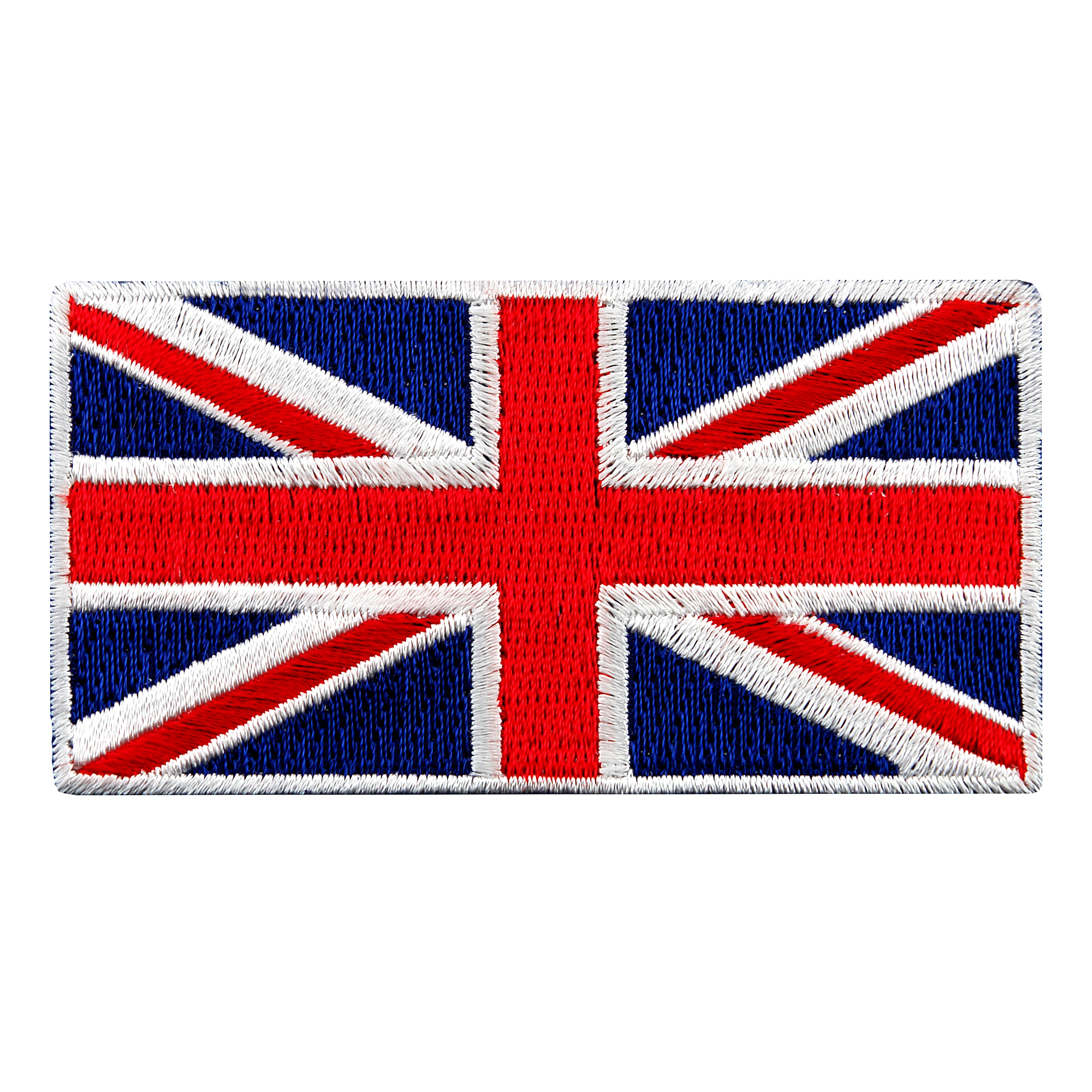 United Kingdom Flag Embroidered Iron-on Patch