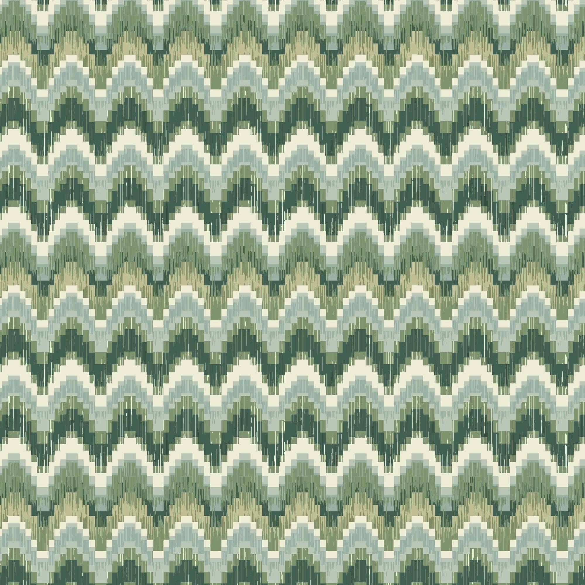 "Waverly Inspirations Cotton Duck 45"" Ikat Spa Fabric, per Yard"