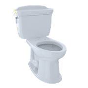 TOTO® Dartmouth® Two-Piece Elongated 1.6 GPF Universal Height Toilet, Cotton White - CST754SF#01