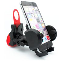 Bicycle Mount Bike Handlebar Holder Swivel Cradle X7D for Alcatel Cingular Flip 2, REVVL 2, Pop 3, Idol 5S 5 4S 4, Fierce 4 2, Evolve 2, 1x Evolve - iPhone XS Max XR X SE 8 PLUS 7 Plus 6S Plus