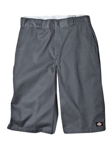 Dickies Mens 15 Inch Inseam Work Short With Multi Use Pocket Charcoal 34