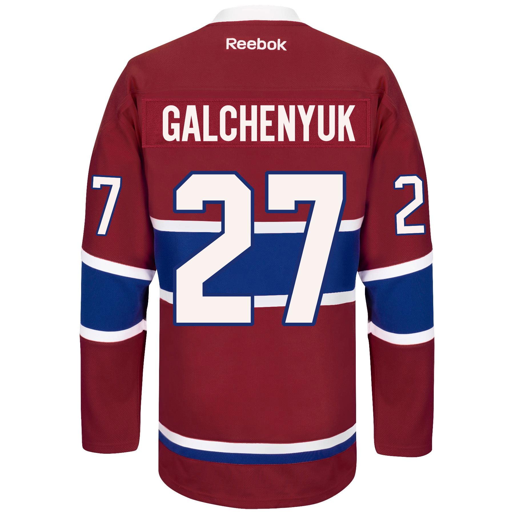 super popular 0ceb3 d4973 Alex Galchenyuk Montreal Canadiens Reebok Premier Replica ...