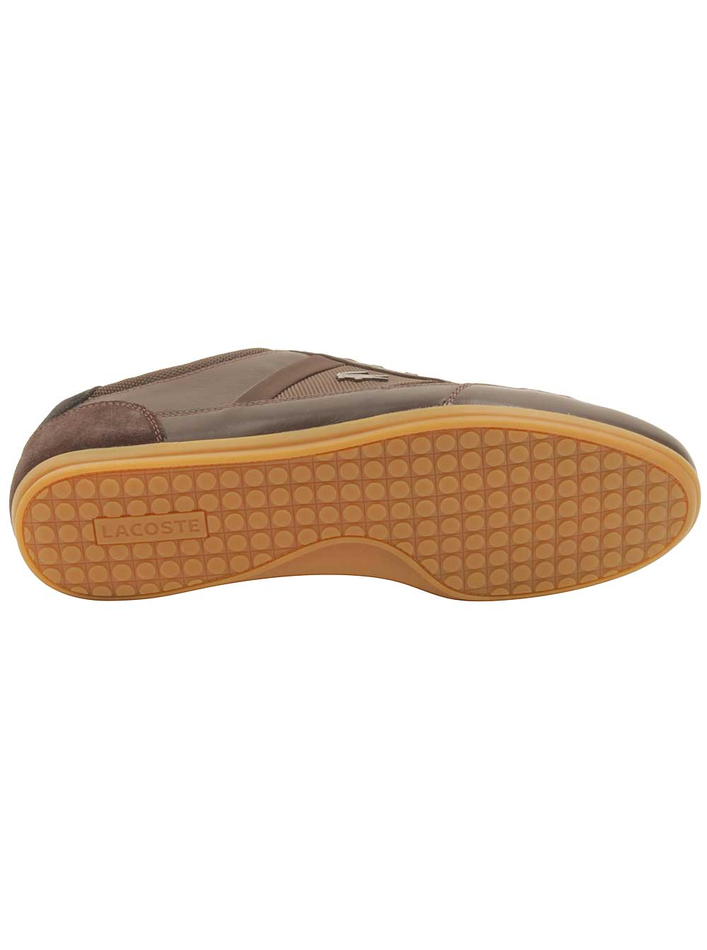 Lacoste Mens Chaymon 116 Sneakers in Dark Brown/Black