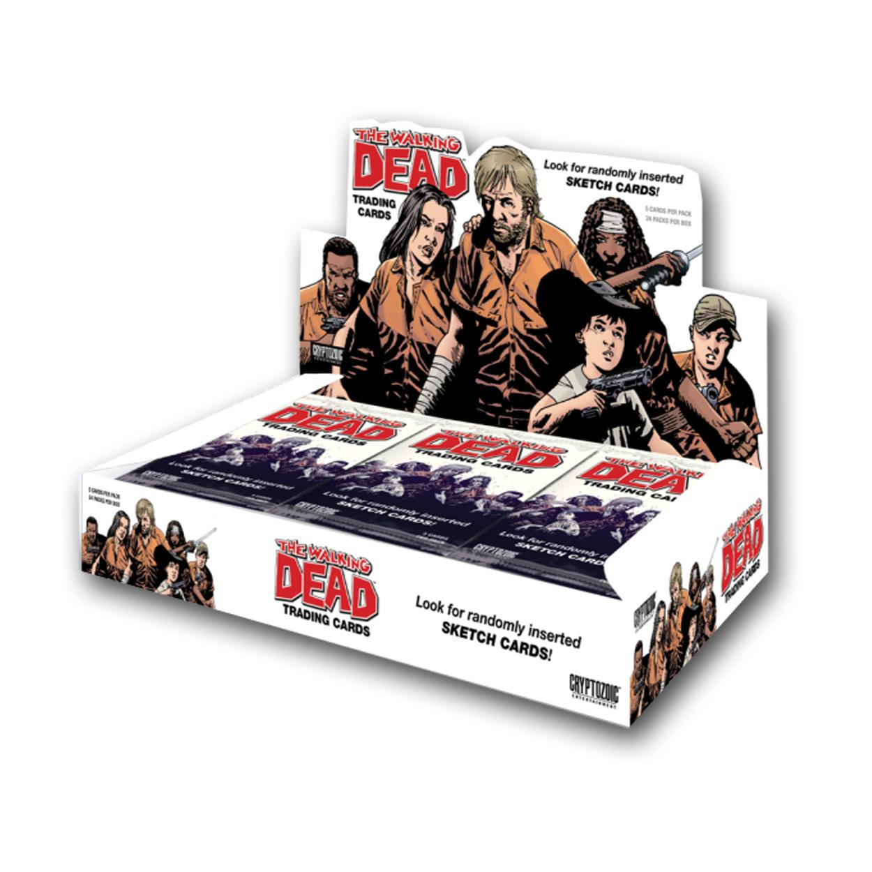 Walking Dead Comic Book Trading Cards (24 Packs) WALKINGD...