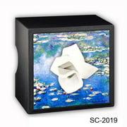Caravelle Designs SC-2019 Monet Square Tissue Boxes