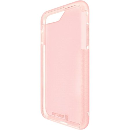 Bodyguardz Ace Pro Case With Unequal Technology For Apple Iphone 7   Iphone 7   White  Pink   Thermoplastic Polyurethane  Tpu   Acceleron  Kevlar