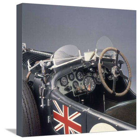 1931 Bentley 4 5 Litre Supercharged Stretched Canvas Print Wall Art