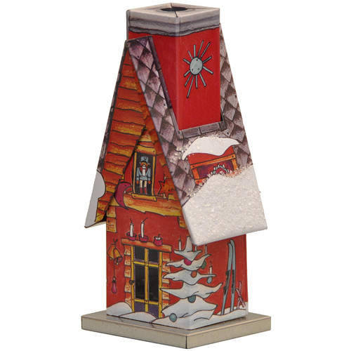 Alexander Taron Knox Metal Winter Scene Incense House