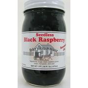 Byler's Relish House Homemade Amish Country Seedless Black Raspberry Jam 16 oz.