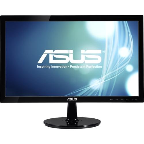 "Asus VS207D-P 19.5"" LED LCD Monitor - 16:9 - 5 ms - Adjustable Display Angle - 1600 x 900 - 16.7 Million Colors - 250 Ni"