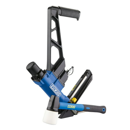 Estwing EFL50Q Pneumatic 2-in-1 Flooring Nailer and Stapler with Bag