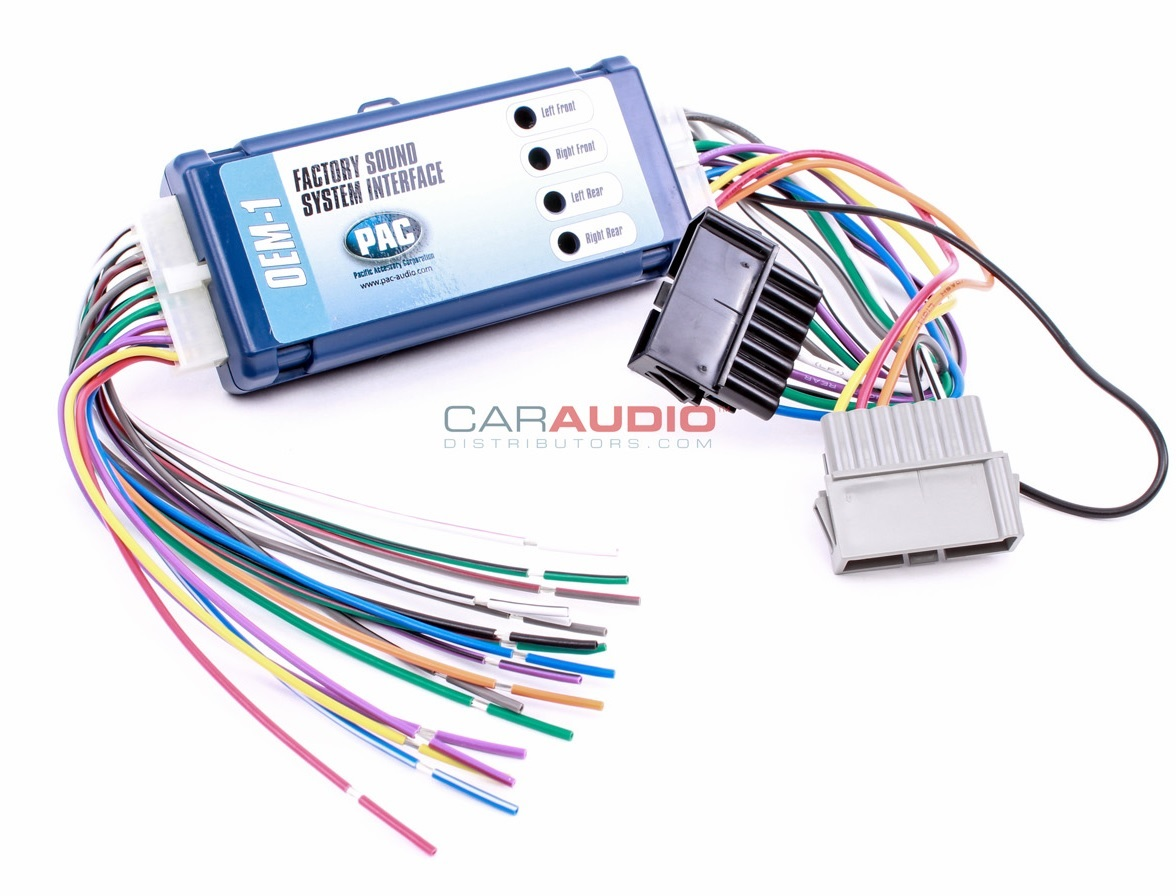 PAC AOEM-CHR2 Add//Replace Amplifier Interface for 2002-up Non-CANBUS Chrysler/'s