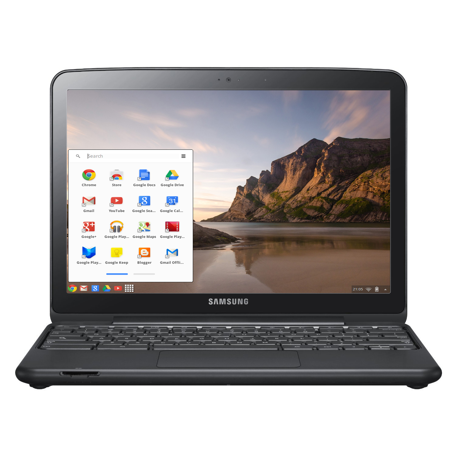 "Refurbished Samsung XE500C21 12"" LED Chromebook Laptop Intel Dual-Core 1.66GHz 2GB 16GB SSD"