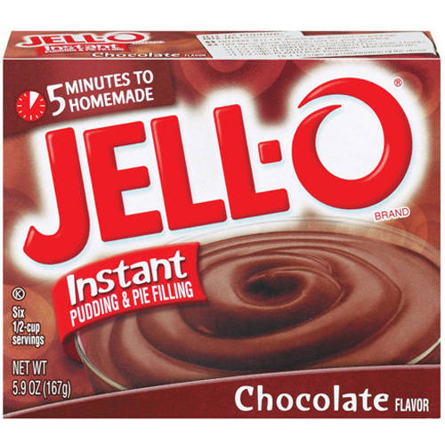 Jell-O Chocolate Instant Pudding & Pie Filling, 5.9 oz