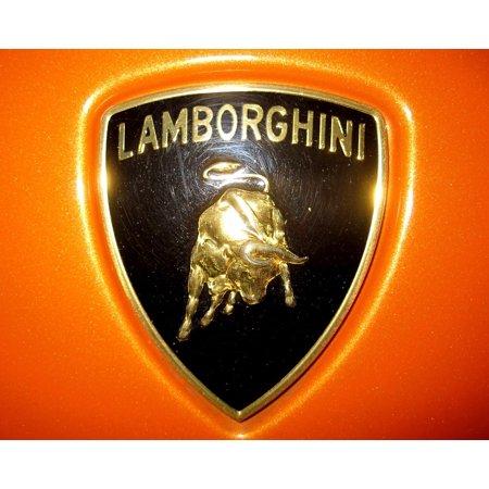 Canvas Print Drive Lamborghini Car Sign Stretched Canvas 10 X 14
