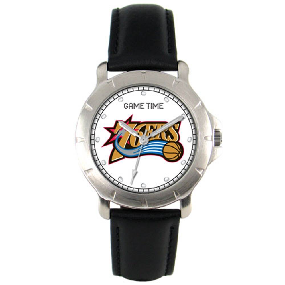 Philadelphia 76ers Leather Band Players Watch