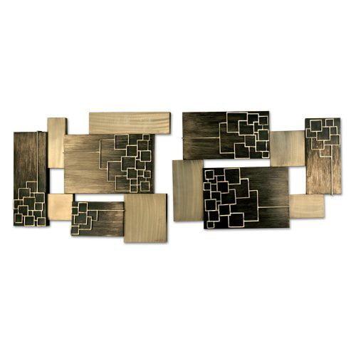 Nova Schematics Metal Wall Art - Set of 2