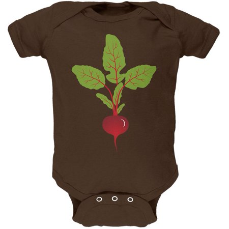 Halloween Vegetable Beet Costume Soft Baby One Piece - Vegetable Dip For Halloween