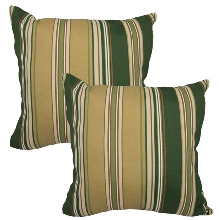 Set of 2 Throw Pillows Indoor/Outdoor Couch Furniture Cushion Patio Bed Sofa UV - Walmart.com
