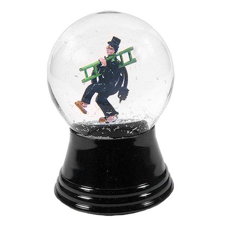 Small Chimney Sweep Snow Globe