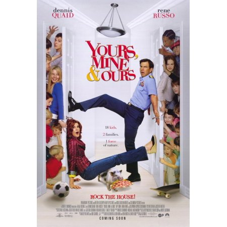 Yours, Mine and Ours - movie POSTER (Style A) (27