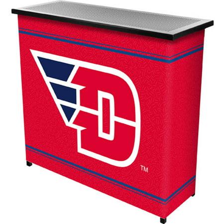 University Of Dayton 2 Shelf Portable Bar With Carrying Case