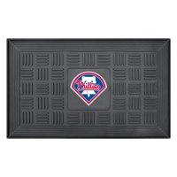 "Philadelphia Phillies 19"" x 30"" Vinyl Medallion Door Mat - Black"