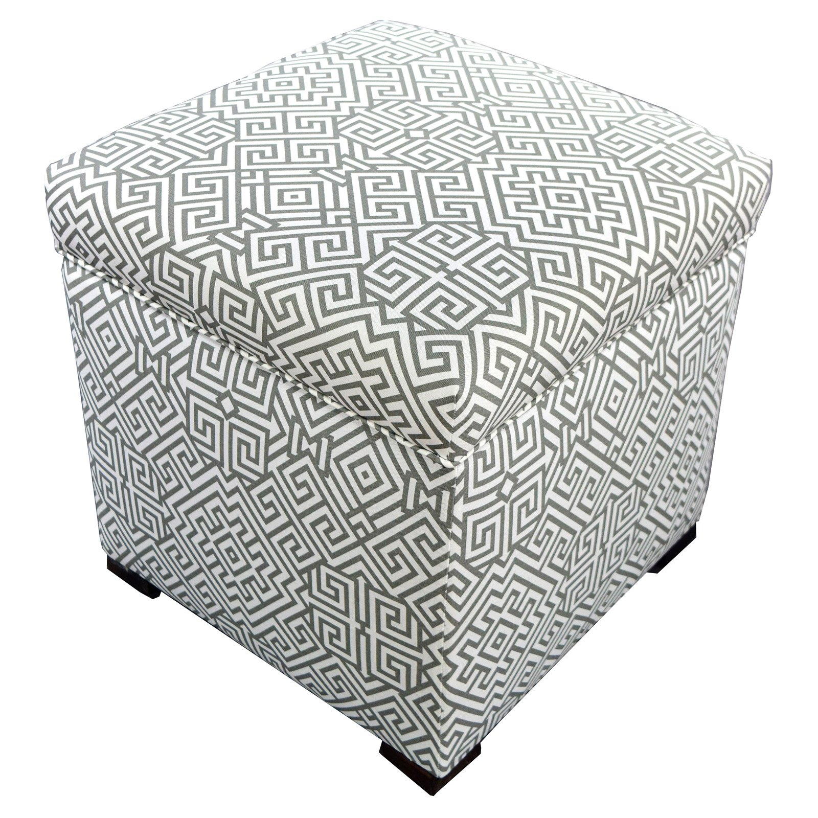MJL Designs Sole Secret Square Ottoman
