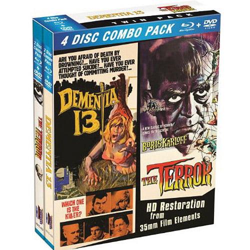The Terror / Dementia 13 (Blu-ray + DVD)
