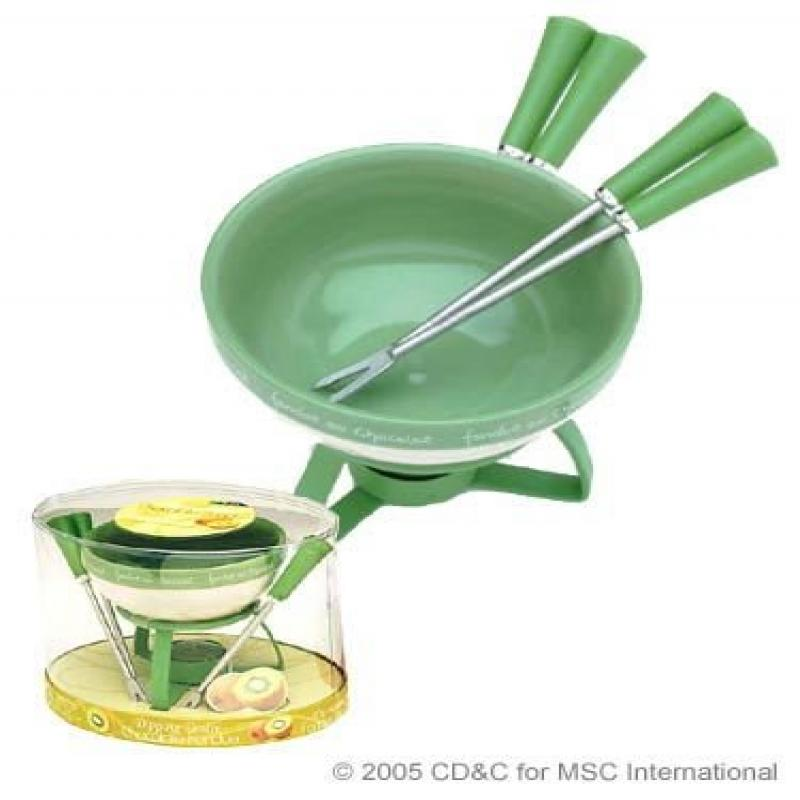 Joie Dipping Desire Chocolate Fondue Set Kiwi by MSC by