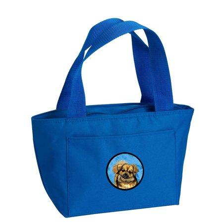 Blue Tibetan Spaniel Lunch Bag or Doggie Bag LH9394BU