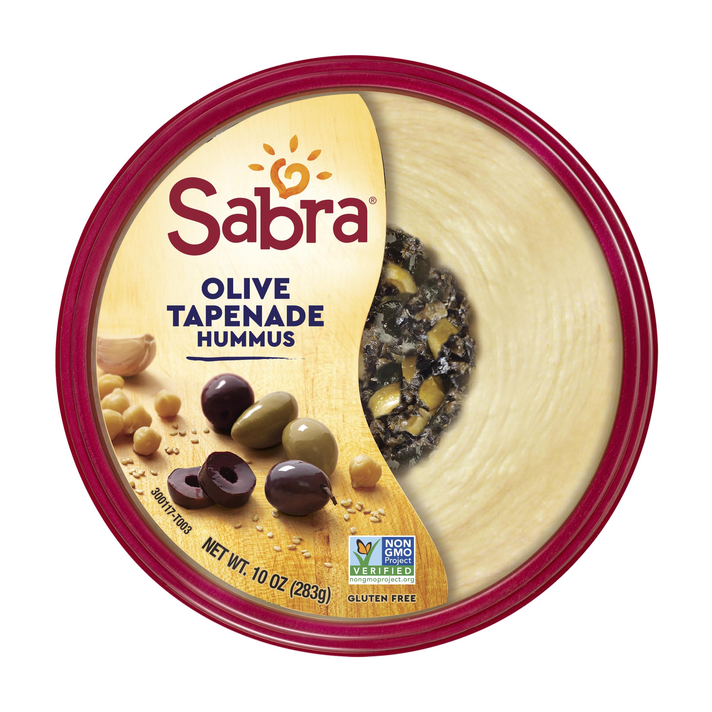 Sabra Olive Tapenade Hummus, 10 oz