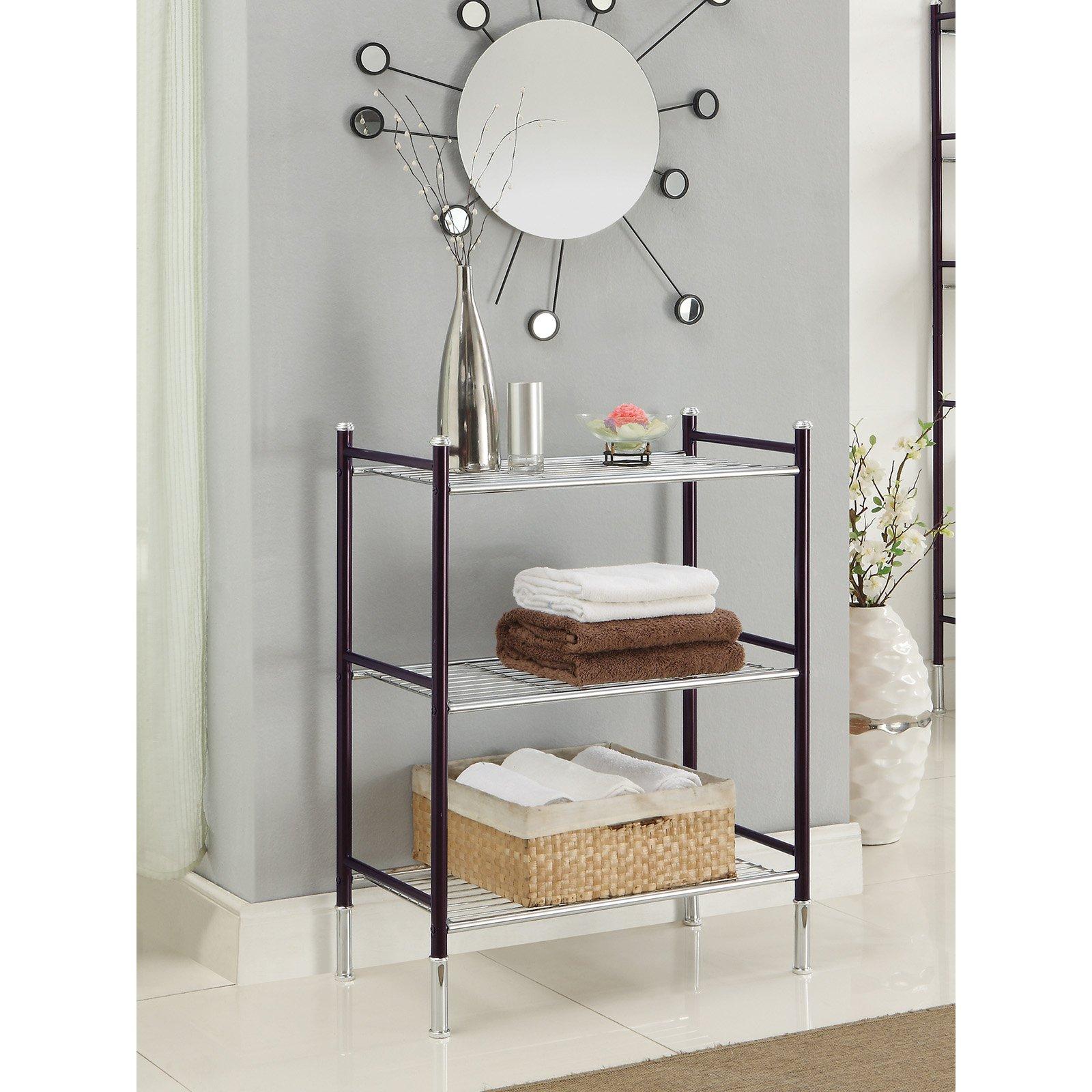 Duplex Bath 3 Tier Shelf