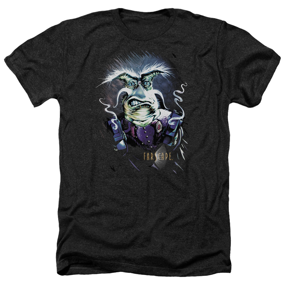 Farscape Rygel Smoking Guns Mens Heather Shirt