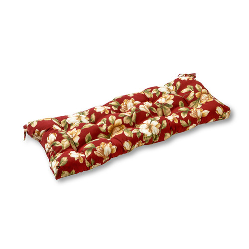 "Greendale Home Fashions 44"" Outdoor Swing/Bench Cushion, Roma Floral"