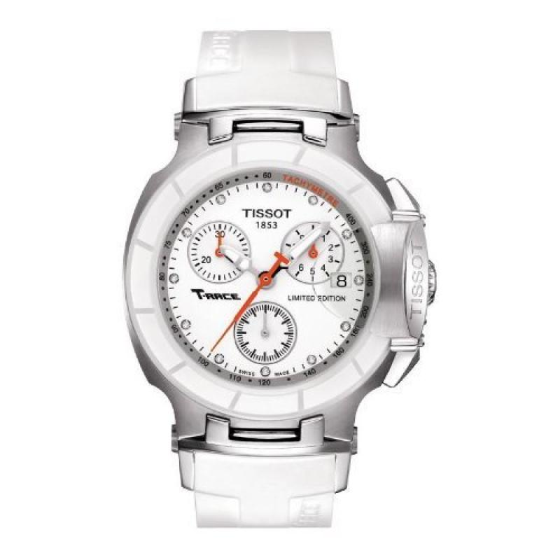 Tissot Women's 'T-Race' Swiss Quartz Stainless Steel and ...