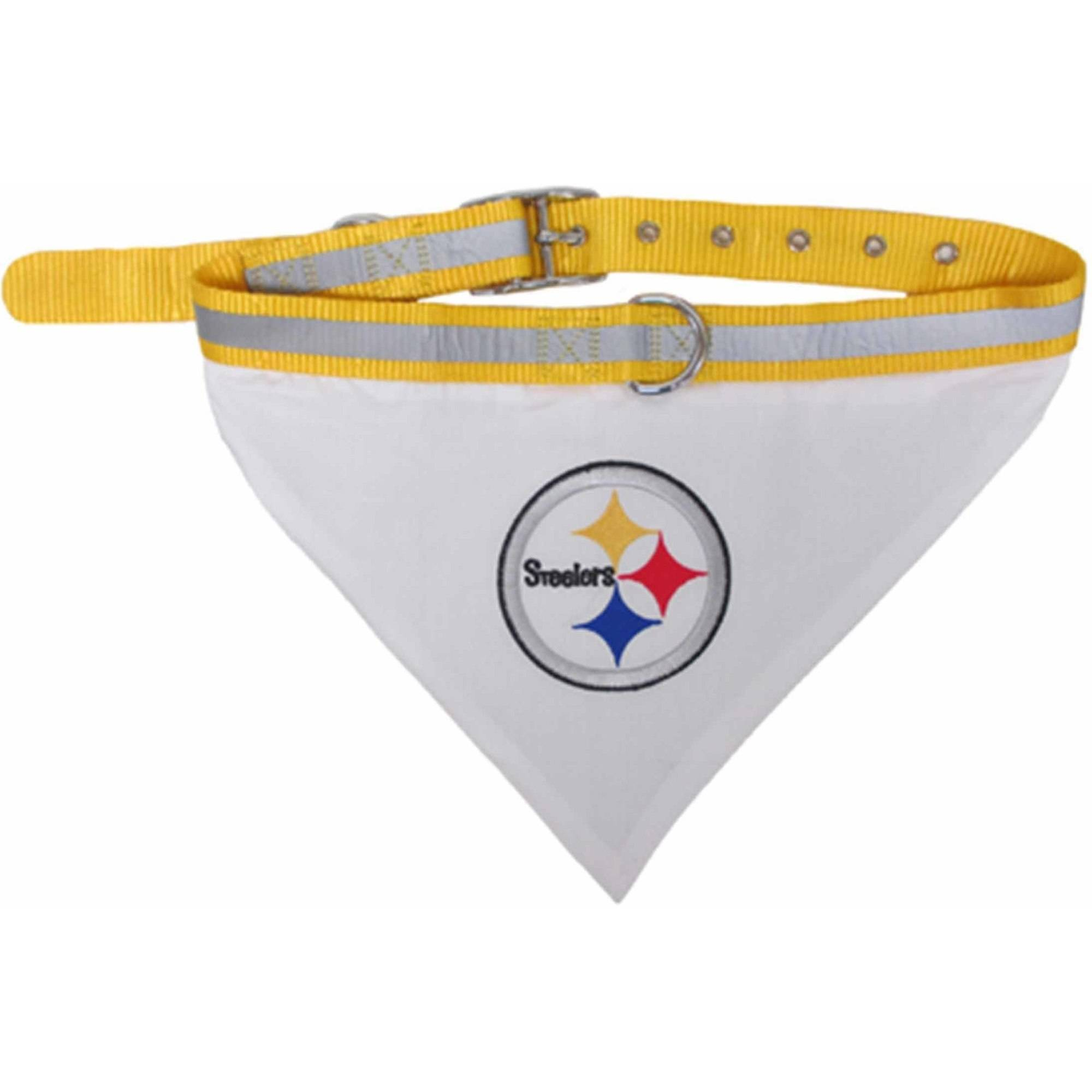 Pets First NFL Pittsburgh Steelers Pet Bandana