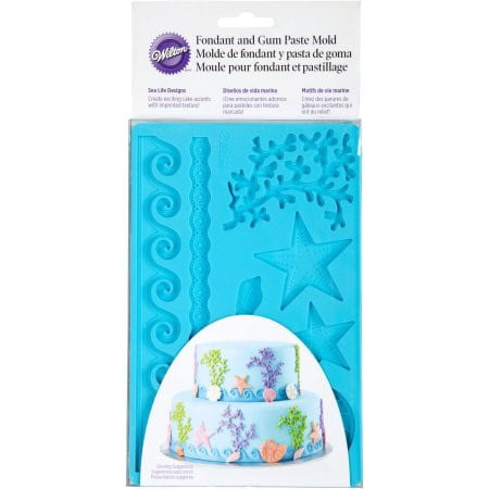 Wilton Fondant and Gum Paste Mold, Sea Life