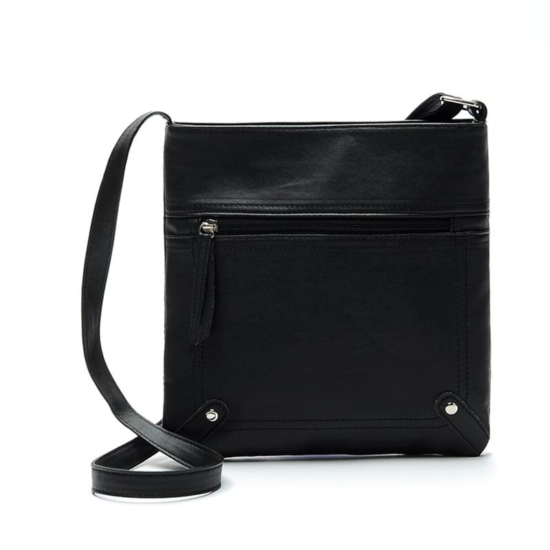 DZT1968® Womens Leather Satchel Cross Body Shoulder Messenger Bag Handbag