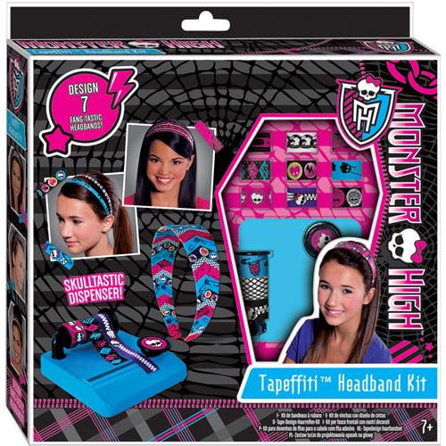 Fashion Angels Monster High Tapeffiti Headband Kit Walmart Com Walmart Com