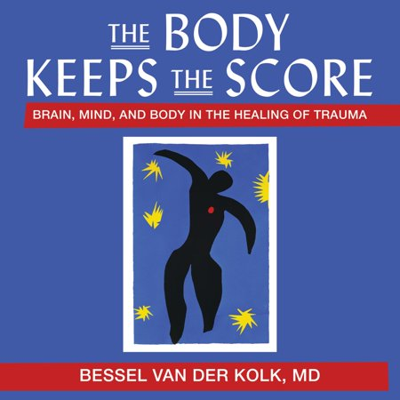 The Body Keeps the Score - Audiobook A pioneering researcher and one of the world's foremost experts on traumatic stress offers a bold new paradigm for healing Trauma is a fact of life. Veterans and their families deal with the painful aftermath of combat; one in five Americans has been molested; one in four grew up with alcoholics; one in three couples have engaged in physical violence. Such experiences inevitably leave traces on minds, emotions, and even on biology. Sadly, trauma sufferers frequently pass on their stress to their partners and children. Renowned trauma expert Bessel van der Kolk has spent over three decades working with survivors. In The Body Keeps the Score, he transforms our understanding of traumatic stress, revealing how it literally rearranges the brain's wiring-specifically areas dedicated to pleasure, engagement, control, and trust. He shows how these areas can be reactivated through innovative treatments including neurofeedback, mindfulness techniques, play, yoga, and other therapies. Based on Dr. van der Kolk's own research and that of other leading specialists, The Body Keeps the Score offers proven alternatives to drugs and talk therapy-and a way to reclaim lives.